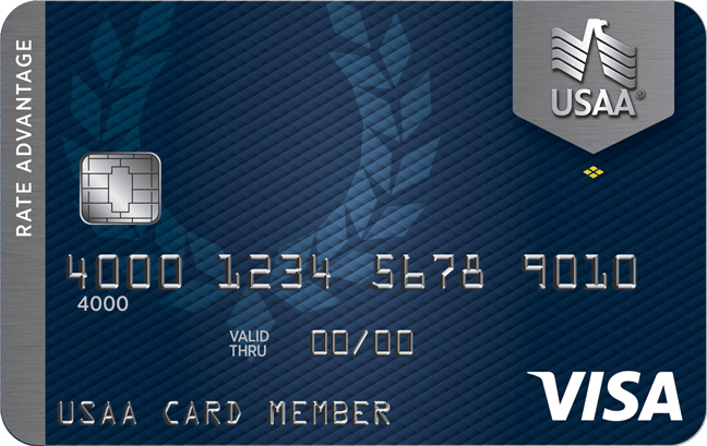 Usaa Business Checking >> Usaa Rate Advantage Visa Platinum Credit Card Usaa