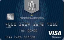 USAA Preferred Cash Rewards Visa Signature Card